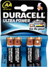 DURACELL ULTRA POWER BATTERY AA