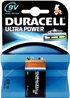 DURACELL ULTRA POWER BATTERY 9V